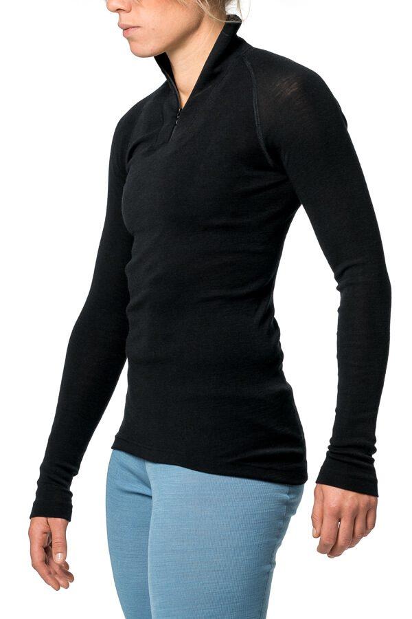 Zip Turtleneck Lite Black