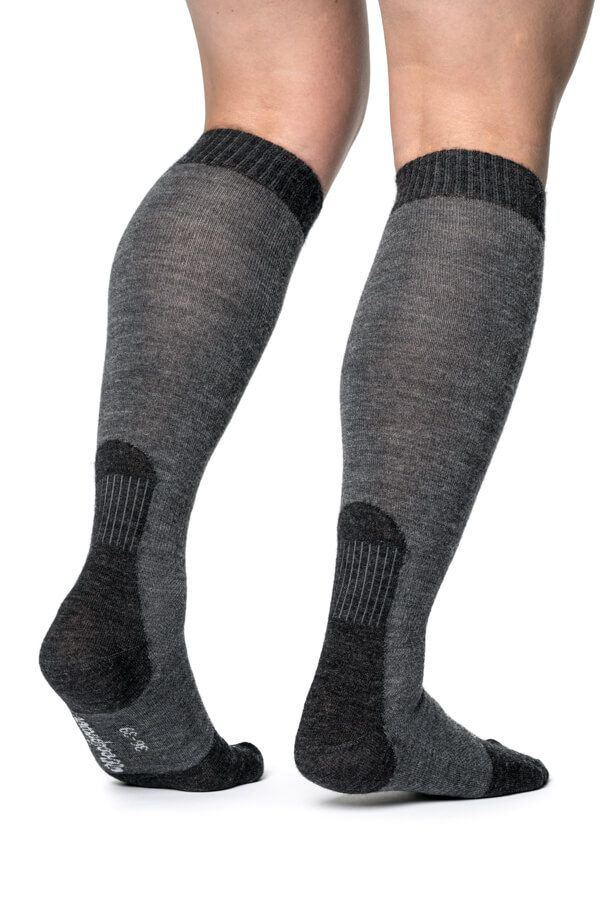 Socks Skilled Liner Knee-high Grey