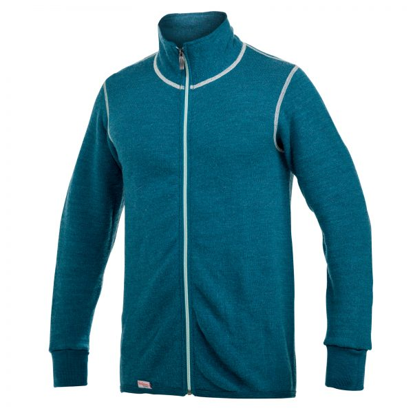 Full Zip Jacket 400 Colour Collection Petrol/Champagne