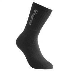 Tjocka strumpor i svart med ribbstickat skaft med vår logotyp. Namn på produkt Socks Classic Logo 400